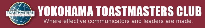 英語スピーチ、プレゼンテーションの上達|横浜トーストマスターズクラブ Yokohama Toastmasters Clubロゴ